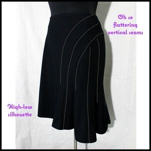 Ridiculously Flattering Black Skirt, size 18